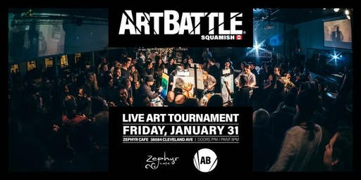 Art Battle Squamish - January 31, 2020