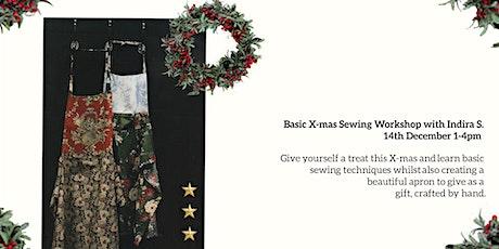 Basic X-mas Sewing Workshop tickets