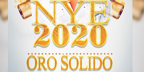 ORO SÓLIDO NYE Party tickets