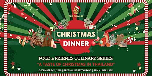 CHRISTMAS DINNER | TREE HOUSE PHUKET