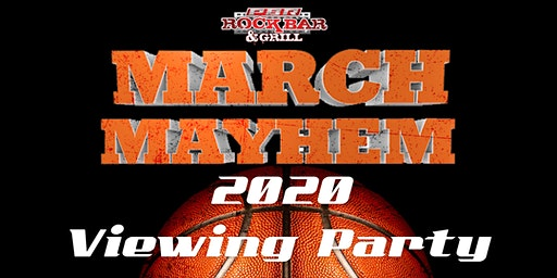 PBR Rock Bar March Mayhem 2020