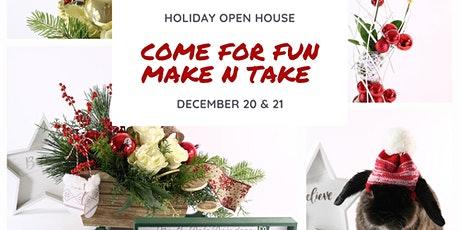 Holiday Make n Take Open House tickets