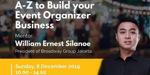 A-Z to Build your Event Organizer Business