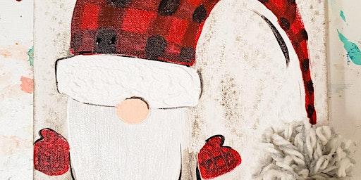 12/22 $22 Wobbly Gnome @ Paint Like ME!
