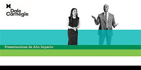 Presentaciones de Alto Impacto tickets