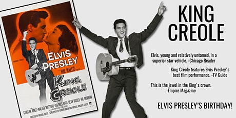 Elvis Presley in KING CREOLE tickets