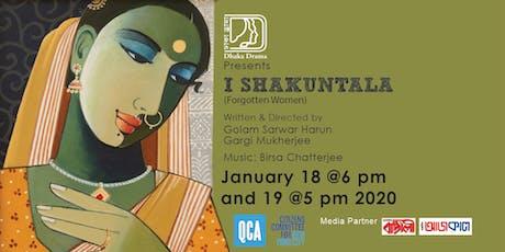 I Shakuntala tickets