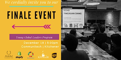 Young Global Leaders Accelerator Finale - Kitchener Edition I tickets