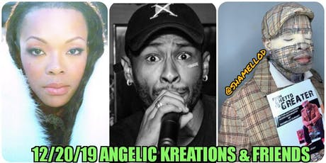 Angelic Kreations Poetry aon Demand & Friends Holiday Event tickets