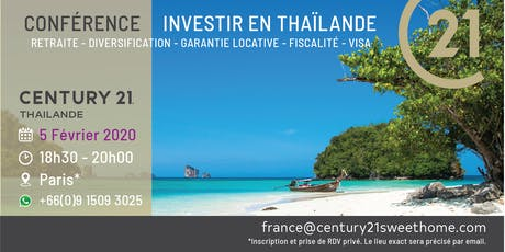 INVESTIR EN THAILANDE AVEC CENTURY 21 billets