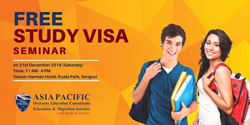 Free Study Visa Seminar