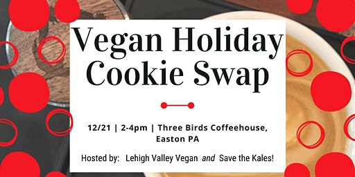 Vegan Holiday Cookie Swap