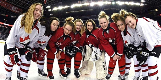 Copy of Esso Fun Day -  An introduction for new-to-hockey female players
