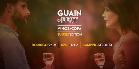 GuainFest! - Sunset Edition: Terraza de VINOS x COPA + Música + Juegos! entradas