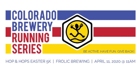 Hop & Hops Easter 5k - Frolic Brewing | Colorado Brewery Running Series tickets