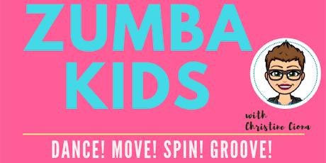 ZUMBA KIDS 2020 - 10 week series tickets