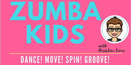 ZUMBA KIDS 2020 - 10 week series tickets