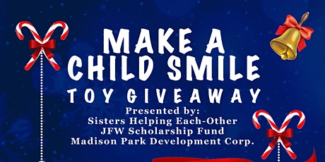 Make A Child Smile Toy Giveaway tickets