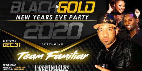 Black & Gold New Year's Eve Party 2020 tickets