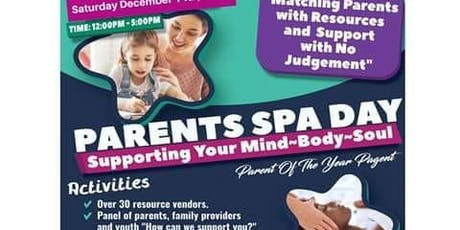 Parents Resource And Spa Day tickets