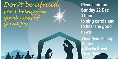 West Ryde Christmas Carols Service tickets