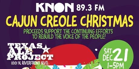 KNON's Cajun & Creole Christmas tickets