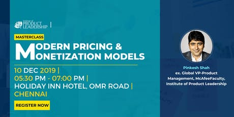 Masterclass: Modern Pricing & Monetization Models tickets