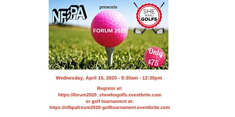 NFBPA Forum 2020 presents She Who Golfs tickets