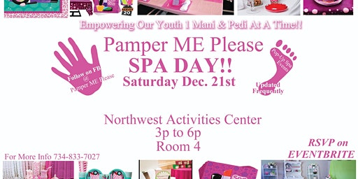 Pamper ME Please Spa Day