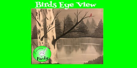 PAINTIN' PARTY with KAT: Birds Eye View (ACRYLIC PAINTING on CANVAS) tickets