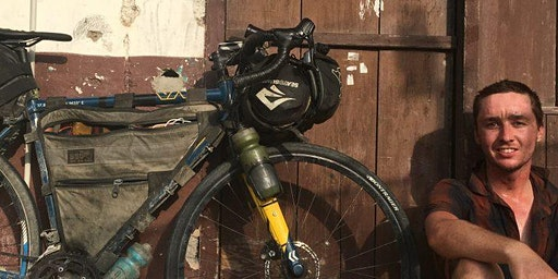 Jimmy Ashby - Around the world by bike - Sydney
