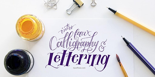Faux Calligraphy & Lettering: Design Your Own Quote Layout [Vancouver Art Workshop]