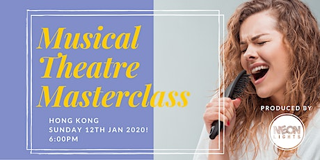 MUSICAL THEATRE - MASTERCLASS tickets