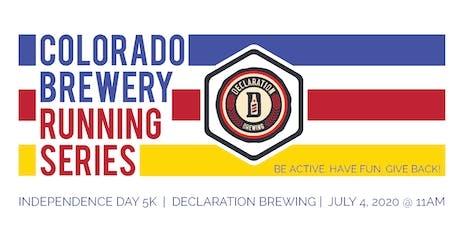 Independence Day 5k - Declaration Brewing | Colorado Brewery Running Series tickets