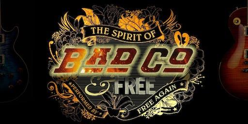 The Spirit of Bad Company & Free - Live at The Tivoli 2020