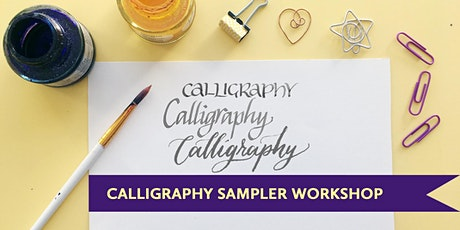 Calligraphy & Lettering 101: Learn Multiple Tools & Styles for Self Care [Vancouver Workshop] tickets