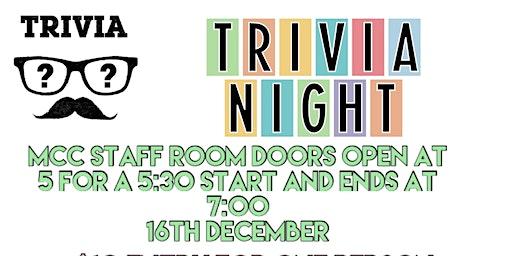 Mernda Central College - Trivia Night