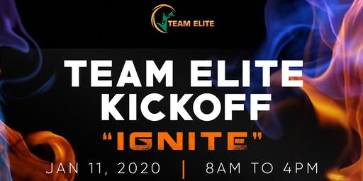 Team ELITE 2020 Kickoff