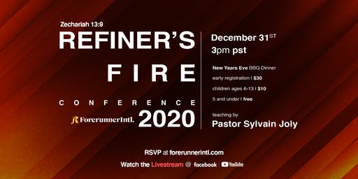 ForerunnerIntl. Presents Refiner's Fire Conference