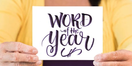 Lettering Your Intention & WORD OF THE YEAR [Calligraphy for Self Care] tickets