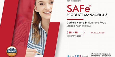SAFe® Product Manager tickets