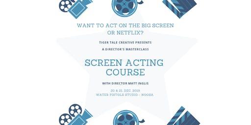 SCREEN ACTORS COURSE - Director's Masterclass
