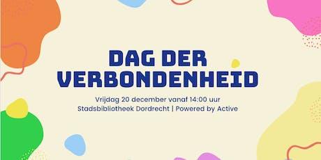 Dag der Verbondenheid - Workshops tickets