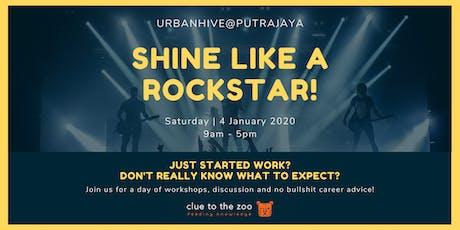 [FREE CAREER WORKSHOP] Shine Like A Rockstar: Let's Rock Your Career! tickets