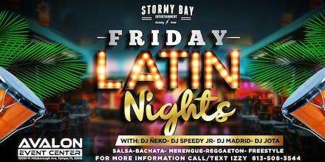 Friday Latin Night at Avalon tickets