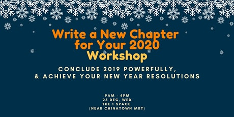 Write a New Chapter  for Your 2020 Workshop tickets