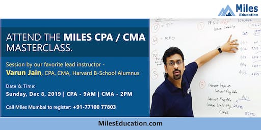 Free CPA course demo class and Batch start in Mumbai
