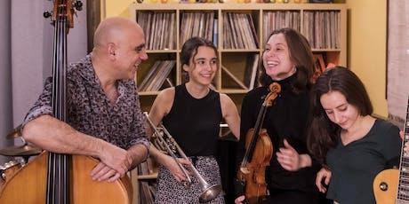 Joan Chamorro New Quartet entradas