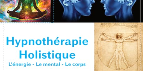 Être son propre coach avec L'hypnothérapie holistique. billets