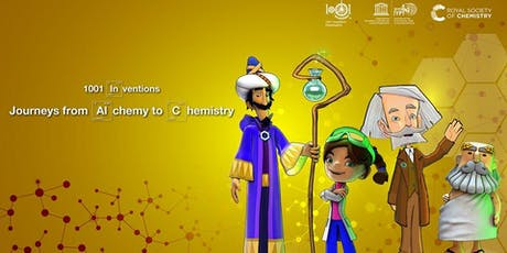 """LONDON FAMILY EVENT: """"1001 Inventions: Journeys fr tickets"""